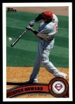 2011 Topps #420  Ryan Howard  Front Thumbnail