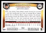 2011 Topps #401  Michael Crotta  Back Thumbnail