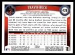 2011 Topps #426  Travis Buck  Back Thumbnail