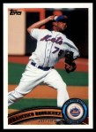 2011 Topps #486  Francisco Rodriguez  Front Thumbnail
