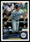 2011 Topps #466  Johnny Damon  Front Thumbnail