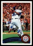 2011 Topps #543   Rangers Team Front Thumbnail