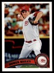 2011 Topps #508  Homer Bailey  Front Thumbnail