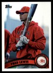 2011 Topps #517  Fred Lewis  Front Thumbnail