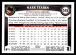 2011 Topps #565  Mark Teahen  Back Thumbnail