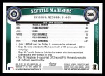 2011 Topps #589   Mariners Team Back Thumbnail