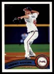 2011 Topps #505  Tommy Hanson  Front Thumbnail