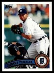 2011 Topps #504  Jhonny Peralta  Front Thumbnail