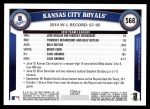 2011 Topps #568   Royals Team Back Thumbnail