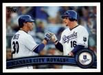 2011 Topps #568   Royals Team Front Thumbnail