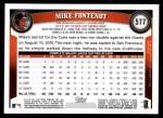 2011 Topps #577  Mike Fontenot  Back Thumbnail