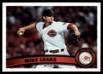 2011 Topps #516  Mike Leake  Front Thumbnail