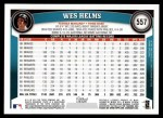 2011 Topps #557  Wes Helms  Back Thumbnail