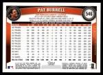 2011 Topps #546  Pat Burrell  Back Thumbnail