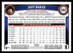 2011 Topps #502  Jeff Baker  Back Thumbnail