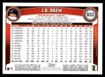 2011 Topps #653  J.D. Drew  Back Thumbnail