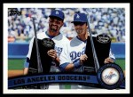 2011 Topps #646   Dodgers Team Front Thumbnail