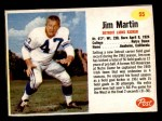 1962 Post #55  Jim Martin  Front Thumbnail