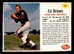 1962 Post #107  Ed Brown  Front Thumbnail