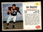 1962 Post #64  Jim Houston  Front Thumbnail