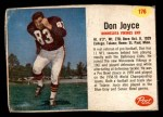 1962 Post #176  Don Joyce  Front Thumbnail