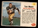 1962 Post #10  Tom Moore  Front Thumbnail