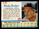 1962 Post Cereal #75  Rocky Bridges   Front Thumbnail