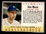 1963 Post #56  Don Mossi  Front Thumbnail