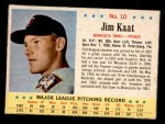 1963 Post #10  Jim Kaat  Front Thumbnail