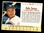 1963 Post Cereal #27  Felix Torres  Front Thumbnail