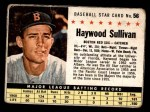 1961 Post #56 BOX Haywood Sullivan   Front Thumbnail