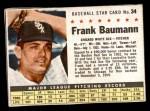 1961 Post #34  Frank Baumann   Front Thumbnail