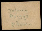 1961 Post #100 BOX Billy Consolo   Back Thumbnail