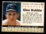 1961 Post Cereal #197 BOX Glen Hobbie   Front Thumbnail