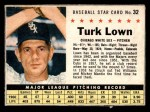 1961 Post Cereal #32 BOX Turk Lown   Front Thumbnail