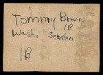 1961 Post Cereal #88 BOX Whitey Herzog   Back Thumbnail