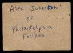 1961 Post #124 BOX Gene Conley   Back Thumbnail