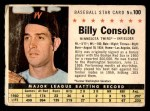 1961 Post #100 COM Billy Consolo   Front Thumbnail