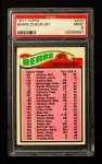1977 Topps #204   Bears Team Checklist Front Thumbnail