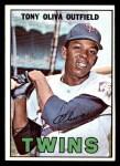 1967 Topps #50  Tony Oliva  Front Thumbnail
