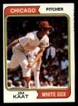 1974 Topps #440  Jim Kaat  Front Thumbnail