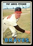 1967 Topps #57  Pat Jarvis  Front Thumbnail