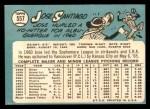 1965 Topps #557  Jose Santiago  Back Thumbnail