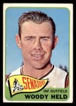 1965 Topps #336  Woodie Held  Front Thumbnail
