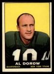 1961 Topps #149  Al Dorow  Front Thumbnail