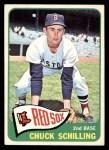 1965 Topps #272  Chuck Schilling  Front Thumbnail