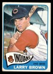 1965 Topps #468  Larry Brown  Front Thumbnail