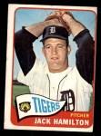 1965 Topps #288  Jack Hamilton  Front Thumbnail