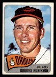 1965 Topps #150  Brooks Robinson  Front Thumbnail