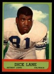1963 Topps #32  Dick Lane  Front Thumbnail